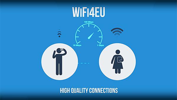 WIFI4EU, des subsides européens pour l'installation de bornes WIFI dans lesvillages