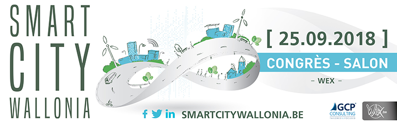 Banner Smart City Wallonia 2018